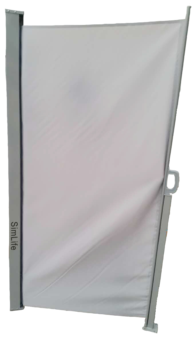 Merveilleux Simlife Retractable Side Awning Folding Screen Patio Privacy Div
